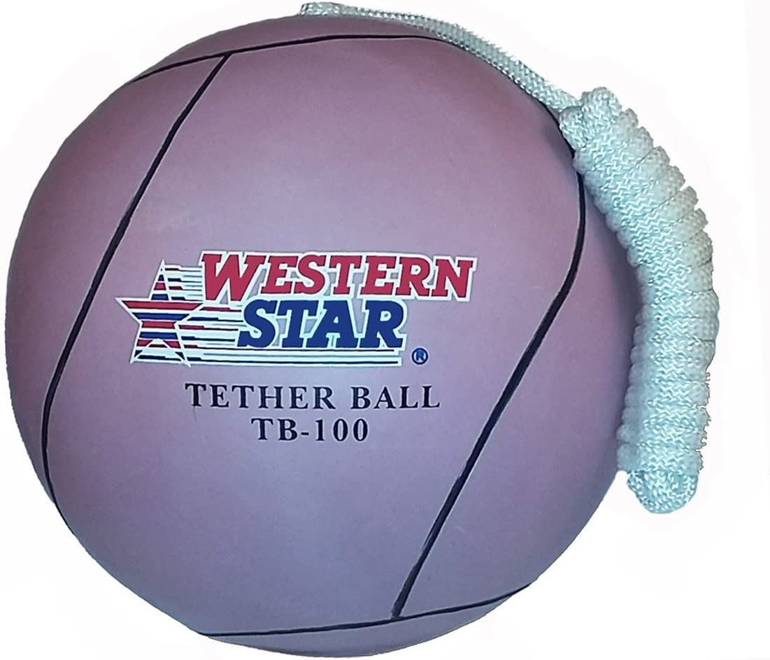 Western Star Premium Line Official Size Tetherball W//Rope