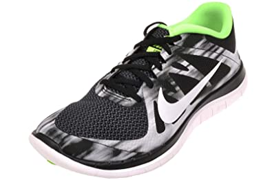 Nike Mens Free 4.0 V4, ANTHRACITE  WHITE - BLACK - ELECTRIC GREEN, 9