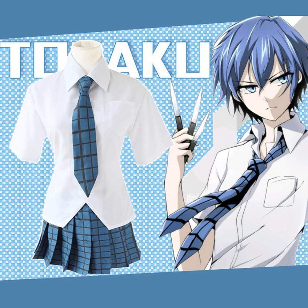 ULLAA Riddle Story of Devil Azuma Tokaku Anime Cosplay Uniformes Disfraz Traje Marinero Tartán Falda Plisada Cintura Elástica Camisa Blanca Festividad Todos Los Santos Graduación Ceremonia,XL: Amazon.es: Deportes y aire libre