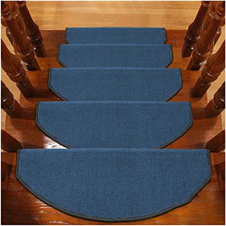 Alfombras de Escalera Alfombrillas para Escalón Tapetes Cojines Piso Mat Alfombras para Escaleras Antideslizantes Y Adhesivas 6mm 5 Tamaño (Color : D, Size : 5PCS 24X100CM): Amazon.es: Hogar