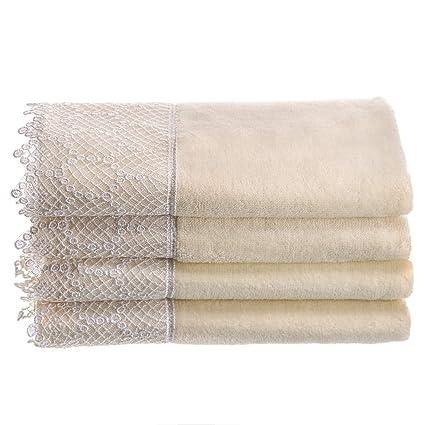 Amazoncom Creative Scents Fingertip Towels For Bathroom 11x18