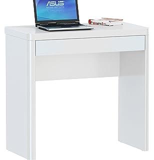 Schreibtisch weiß mit schubladen ikea  IKEA Schreibtisch / Laptop-Tisch
