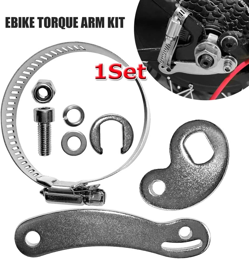 Universal Torque Arm Conversion Kit Electric Bike Mountain Bicycle Cycling for E-Bike Electric Bicycle -Front or Rear,E-Bike Conversion kit