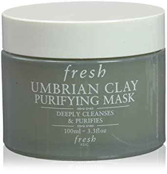 Fresh - Umbrian Clay Purifying Mask - For Normal to Oily Skin -100ml/3.3oz 600 needle Derma Roller Micro Needles face Therapy Care facial 0.25mm
