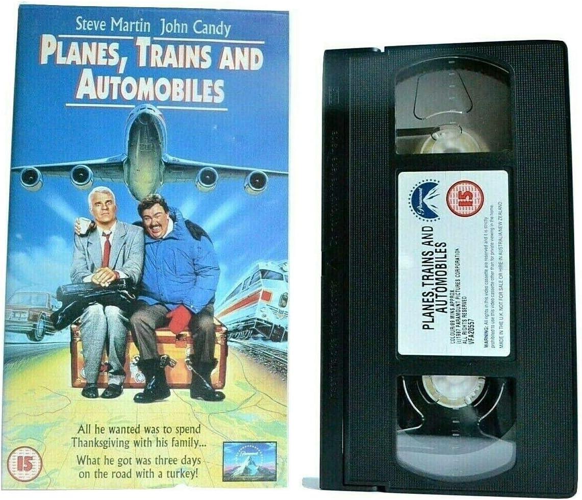 Planes, Trains & Automobiles [VHS]
