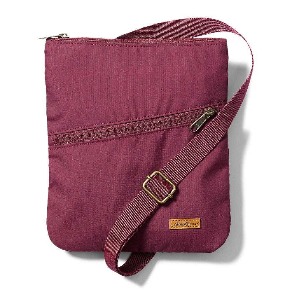 Eddie Bauer Unisex-Adult Connect 3-Zip Travel Bag, Burgundy Regular ONE SIZE
