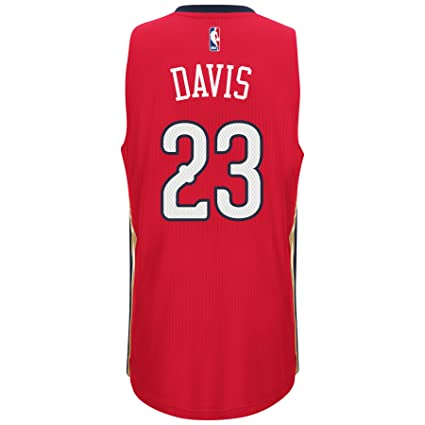 check out 615e7 8982d Amazon.com : Anthony Davis New Orleans Pelicans Adidas ...