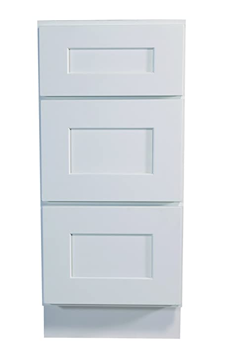 Design House 561464 Brookings 18Inch Drawer Base Cabinet White Shaker 18 Inch Base Cabinet70