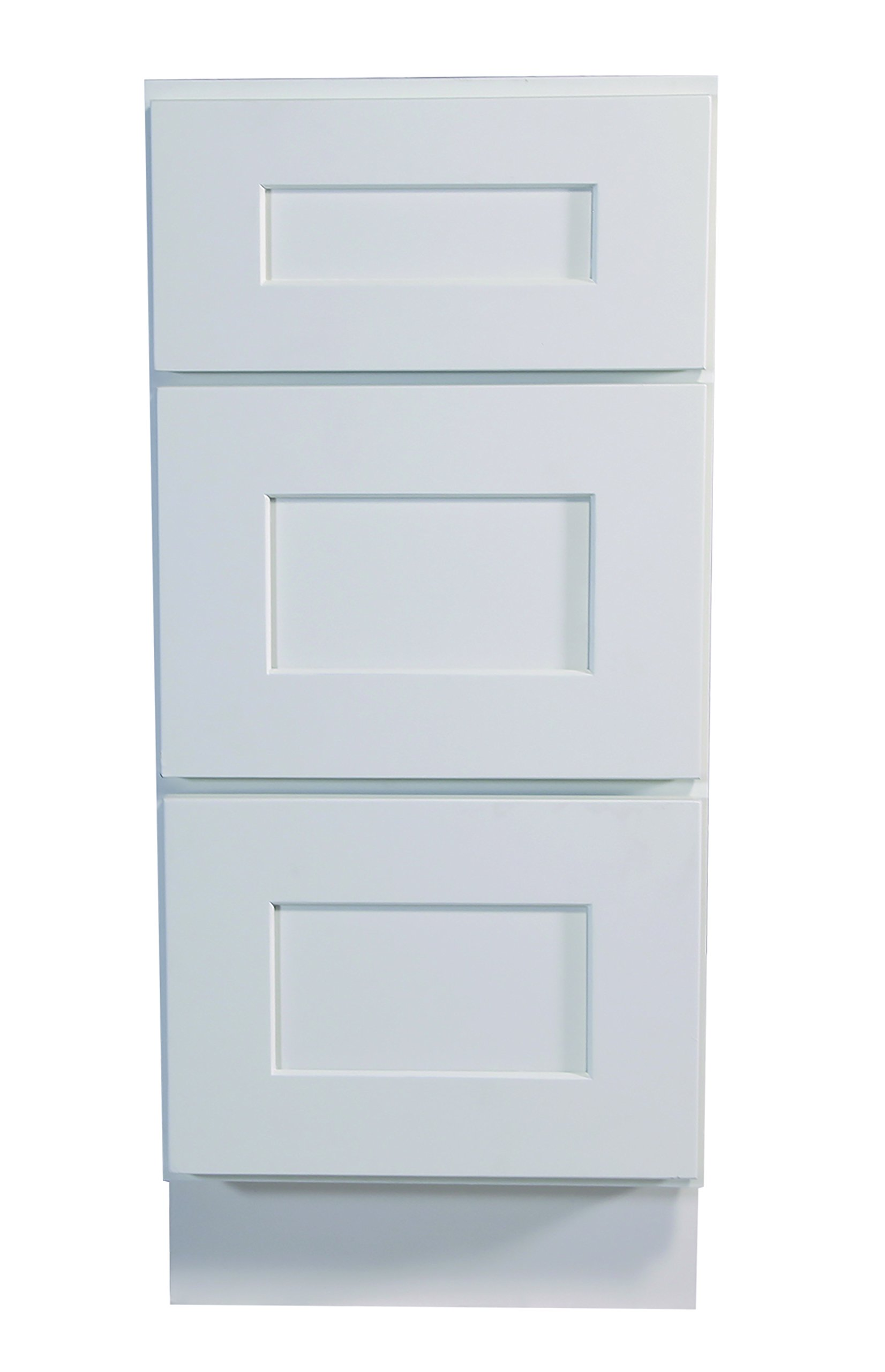 Design House 561464 Brookings 18-Inch Drawer Base Cabinet, White Shaker by Design House