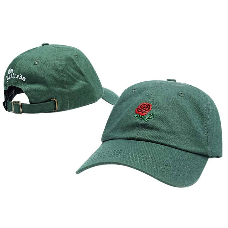 Donna Pierce Unique Embroidery Rose Cap Adjustable Hip Hop Snapback Fashion Baseball Caps Men Women Dance Hat Fitted Trucker Hats Bone 9