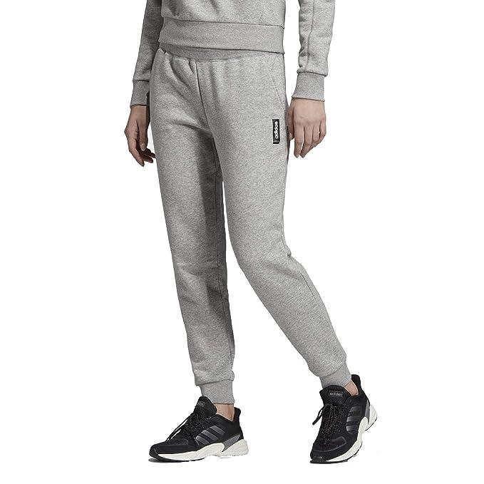 adidas Women's ESS 3S 34 Pants Woman (BlackWhite), XS