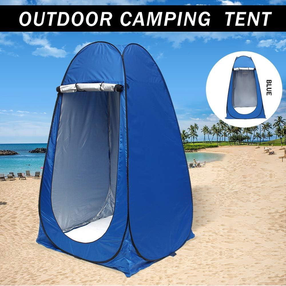 Port/átil Pop Up Vestidor Tienda De Ba/ño Aseo M/óvil Al Aire Libre para Playa Camping Picnic Pesca