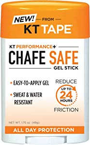 KT Performance+ by KT Tape Anti Chafing Stick, up to 24 hour chaffing protection, Suitable for Whole Body Use, 1.75 Oz Gel Stick