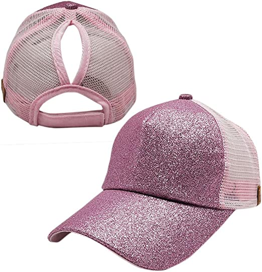 Gorras de Béisbol para Mujer, Gorro de Sombrero de Cola de Caball ...
