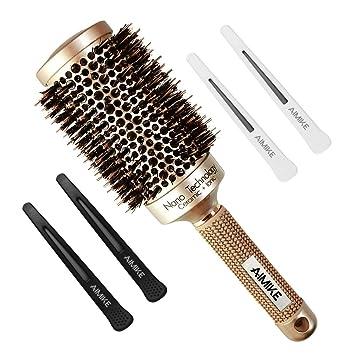 Review Round Brush, Nano Thermal