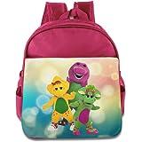 Barney And Friends Children Stylish Lunch Kit School Bag