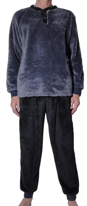 pas mal complet dans les spécifications guetter Sweetcocooning Pyjama Homme Hiver Pilou Chaud épais et ...