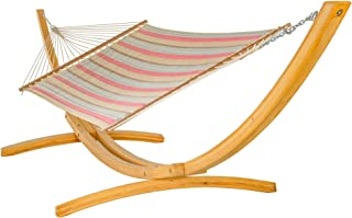 product image for Hatteras Hammocks Large Sunbrella Quilted Hammock - Gateway Blush