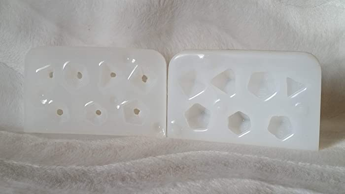 Polyhedral Dice - 2 Part Mold - FULL SET