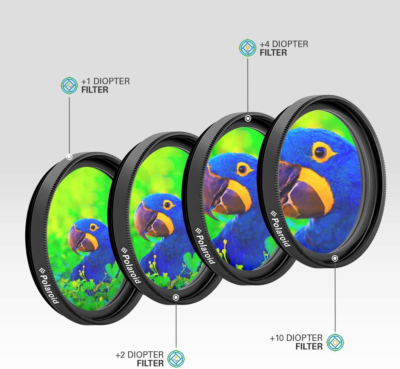 Gzikai 55mm ND2-ND400 Fader Variable Neutral Density Adjustable Lens Filter ND Filter Optical Glass Filter