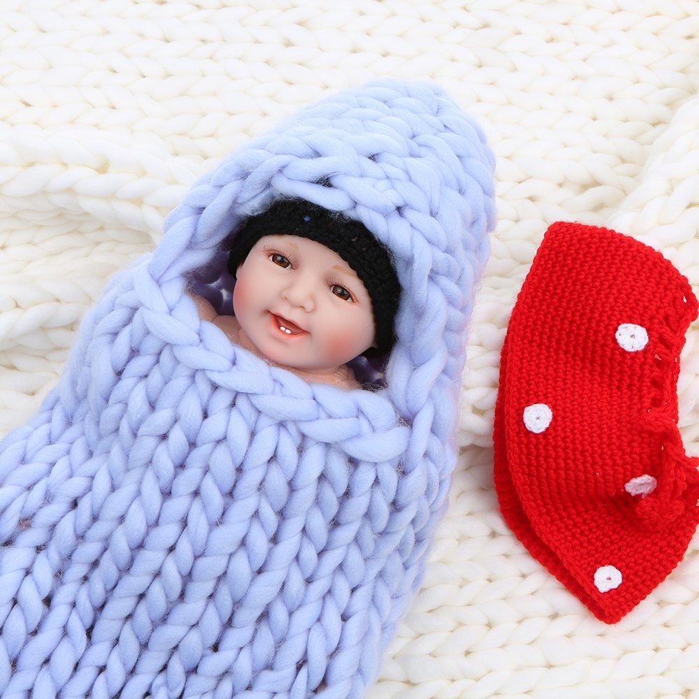 Anself - Saco de dormir para bebé einschlagdecke con capucha de ...