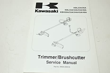 Amazon.com: Kawasaki 99924 – 2046 – 02 Kbl KBH Trimmer ...