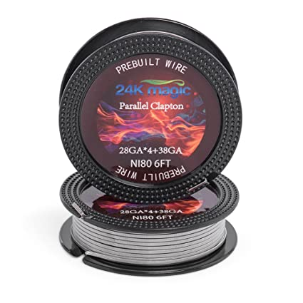 Peachy Parallel Clapton Nichrome 80 28Gx4 38G 6Ft Electronic Resistance Wiring Cloud Toolfoxcilixyz