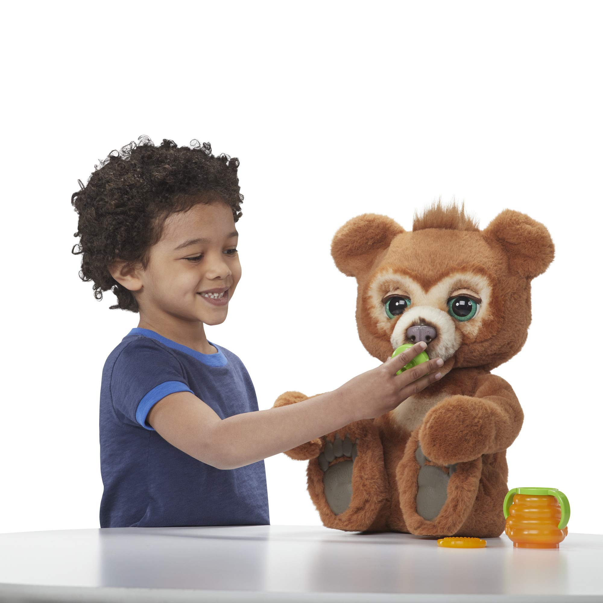 FurReal Cubby, The Curious Bear Interactive Plush Toy, Ages 4 and Up by FurReal (Image #9)