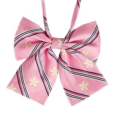 Amazon.com: Lovely Sweet uniforme escolar pajarita camarero ...