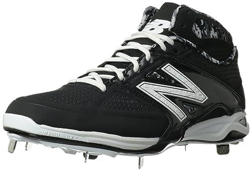 e198637a054 New Balance Hombres M4040 High Tops Cordon Zapatos para Béisbol ...