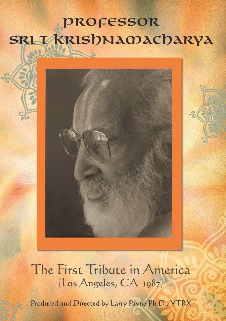 Amazon.com: The First Tribute in America: T Krishnamacharya ...