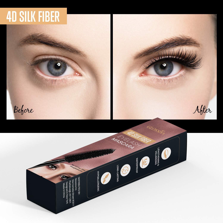 Amazon Asavea 4d Silk Fiber Lash Mascara Waterproof