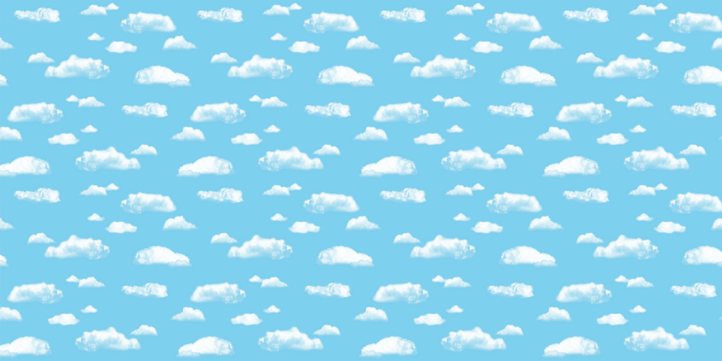 Fadeless Bulletin Board Art Paper, Clouds, 48'' x 50', 1 Roll by Pacon (Image #1)
