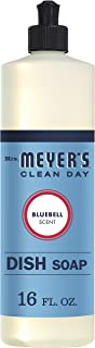 product image for Mrs. Meyer's Clean Day Liquid Dish Soap, Cruelty Free Formula, Bluebell Scent, 16 oz