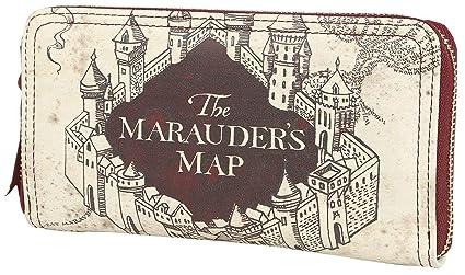 HARRY POTTER- Monedero Grande Marauders Map,, estándar ...