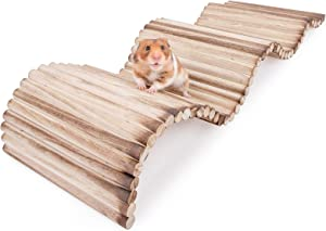 Niteangel Small Animal Climbing Toys: - Suspension Bridge Ladder for Hamsters Gerbils Mice Rats Guinea Pigs or Other Small Pets