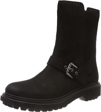 Amazon.com   Geox Girls Biker Boots   Boots