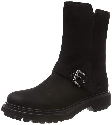 46e72e459da Geox Women's's D Asheely D Biker Boots