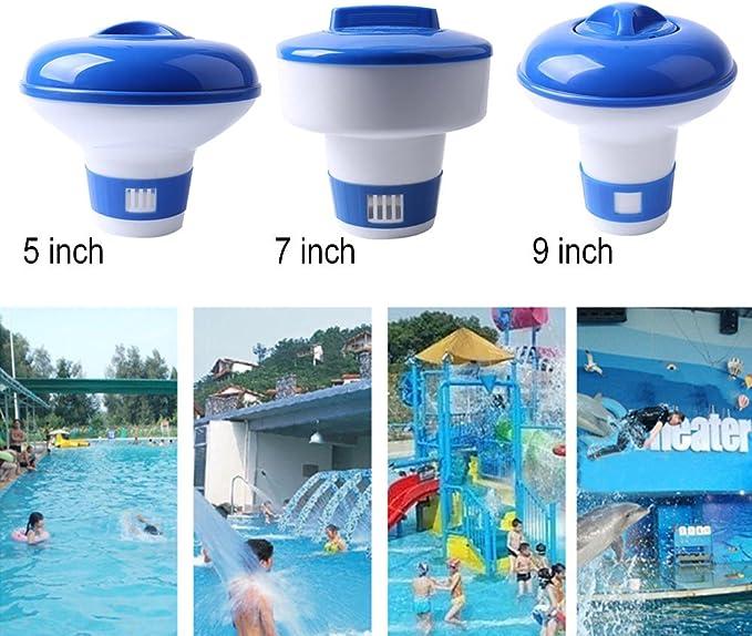 Swimming Pool Spa Chemical Floater Tablet Floating Chlorine Dispenser Appl TAA