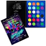 RUDE City of Neon Lights - 24 Vibrant Pigment & Eyeshadow Palette