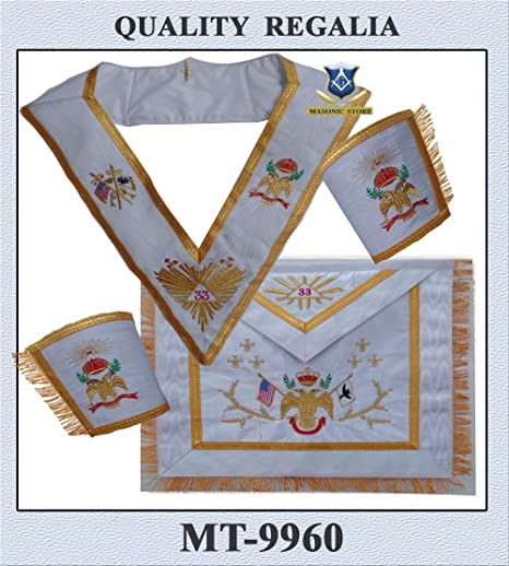 Handmade Quilted Apron and Collar Set