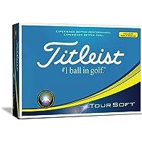 Titleist Tour Pelotas de Golf Blandas (una docena)