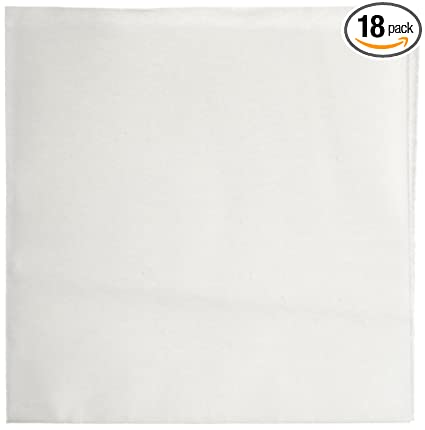 Georgia-Pacific Soft-n-Fresh 29508 White 1/4 Fold Disposable Airlaid