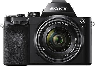 Sony ILCE-7K Cámara Alpha Mirrorless con Montura E Full Frame CMOS con 24.3mp, Incluye Lente SEL2870 (28-70mm)