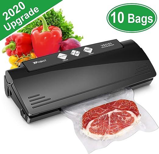 Vacuum Sealer Machine Automatic Sealing System w// Bags Food Preservation Storage