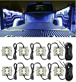 Truck Bed Light Kit with 48 Super Bright Color White LED Waterproof Lighting System for Pickup Truck Unloading Cargo Area