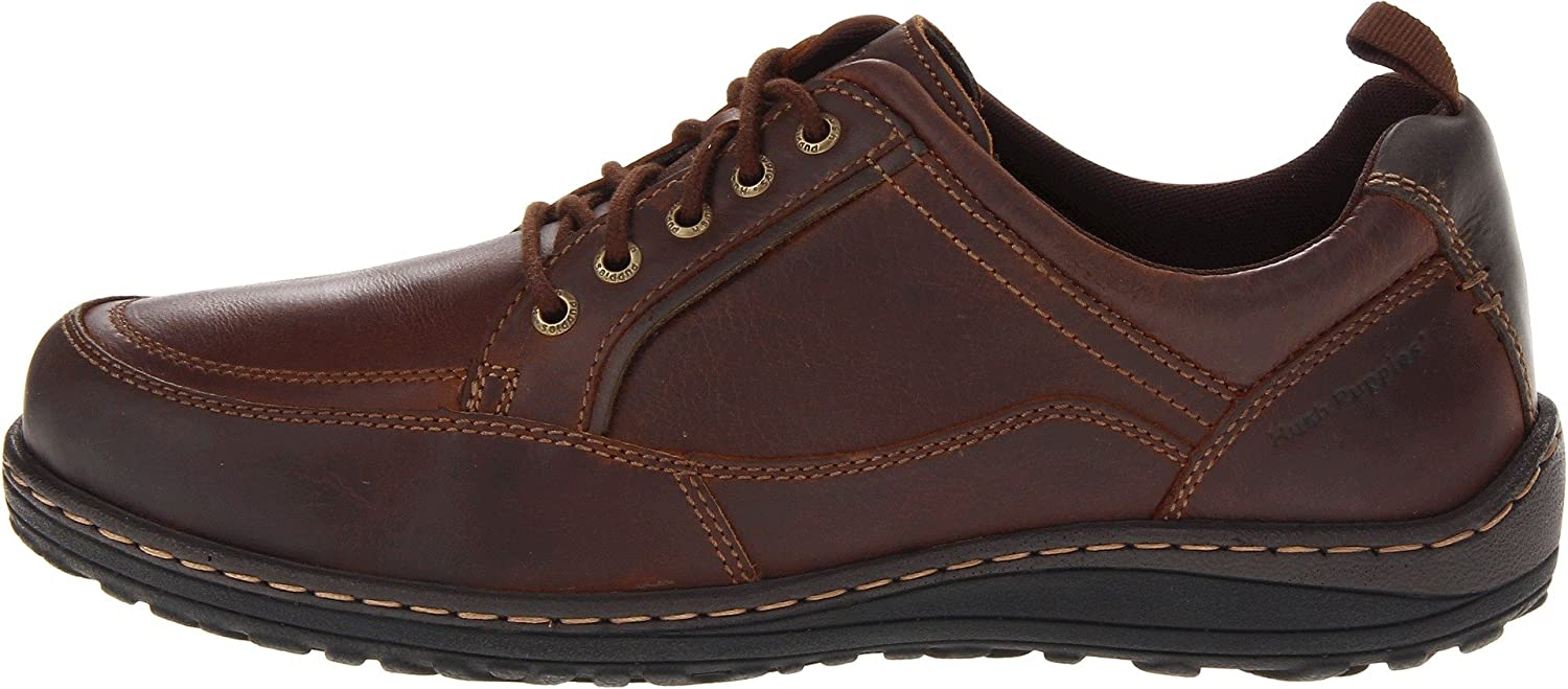 ee747cd00dc Hush Puppies Men's Belfast Lace-up Oxfords Brown Leather 9.5 D(M) US ...