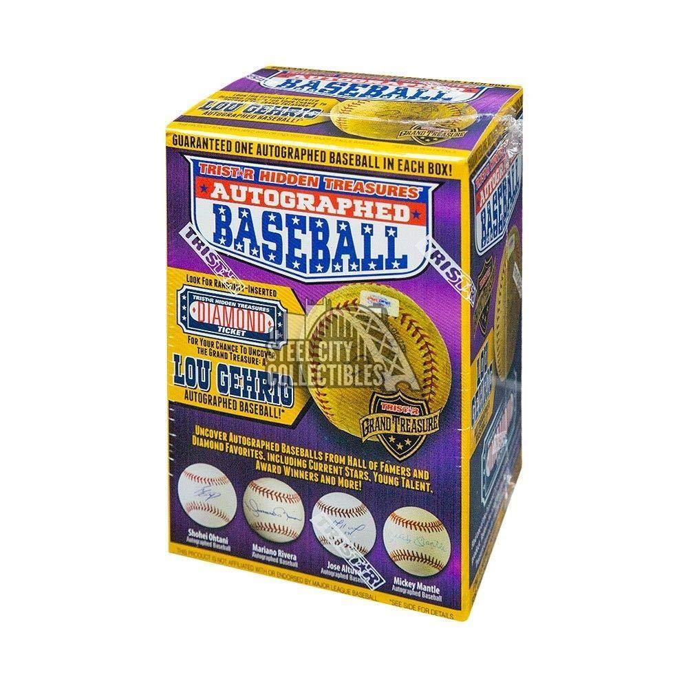 2018 Hidden Treasures Autographed Baseball Series 10 Hobby Box - Tristar Productions Certified - Autographed Baseballs Sports Memorabilia