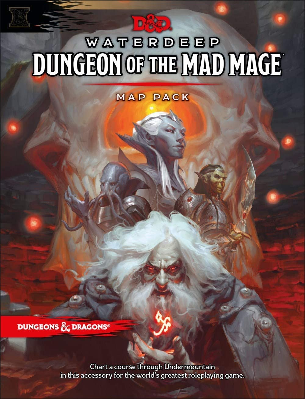 Dungeons & Dragons Waterdeep: Dungeon of the Mad Mage Maps and Miscellany (Accessory, D&d Roleplaying Game): Amazon.es: Juguetes y juegos