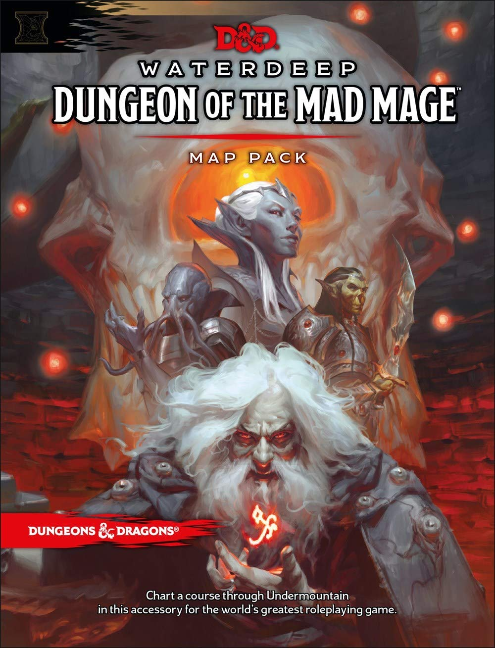 Dnd 5e Christmas Campaign 2020 Waterdeep Dungeons & Dragons Waterdeep: Dungeon of the Mad Mage Maps and